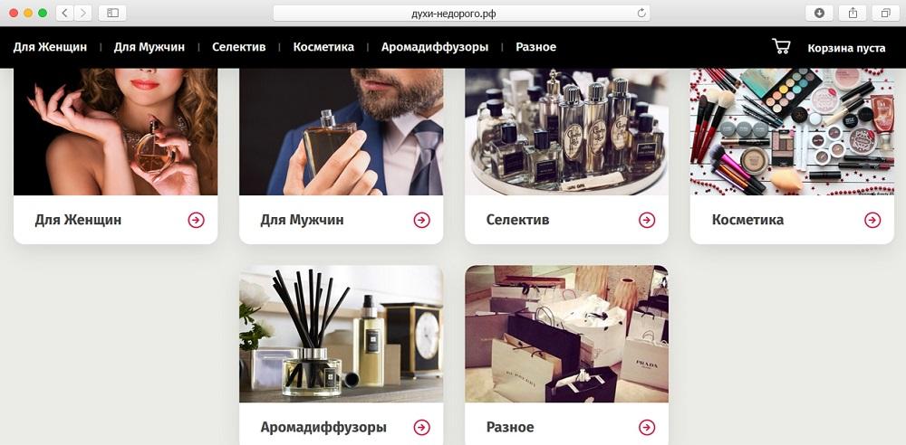 Как сделать свой интернет магазин парфюмерии сео поведенческие факторы